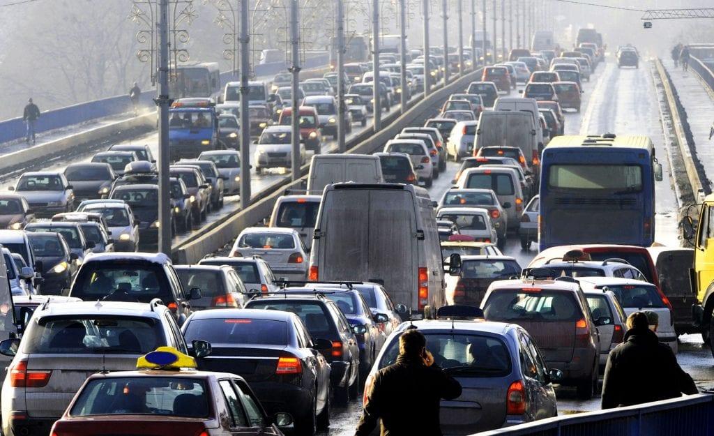 Australian traffic jam