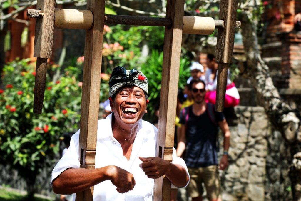 Bali Man Smiling