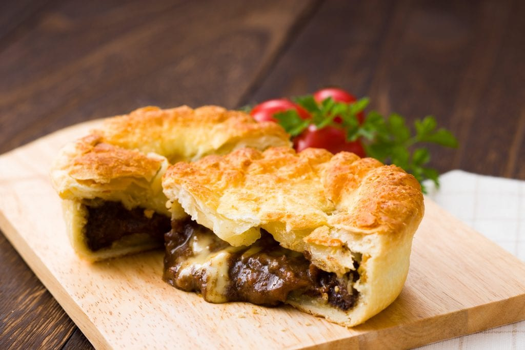 A meat pie, a New Zealand culture facts