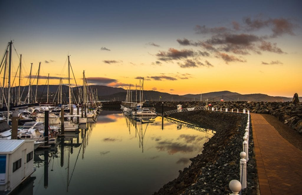 airlie beach harbour