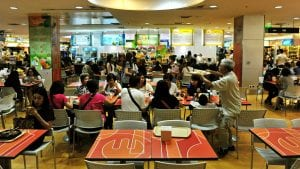 Why You Should Avoid Airport Food Courts