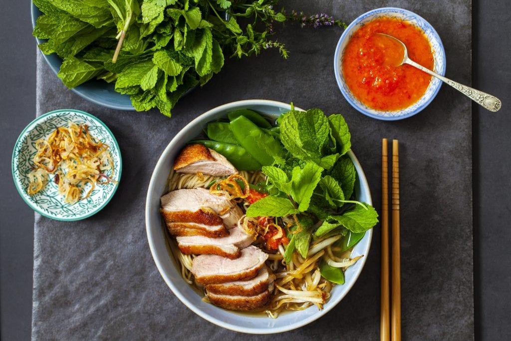 vietnamese roast duck