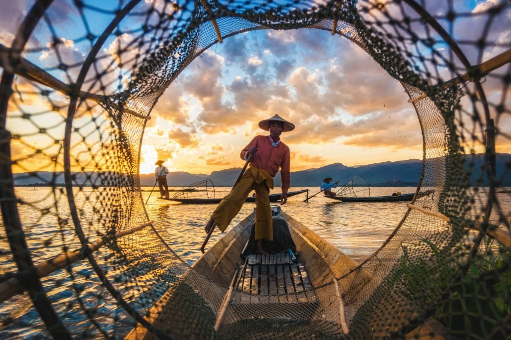 fisherman looking out on a net new perspective