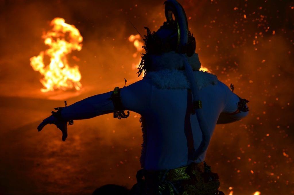 balinese fire dance