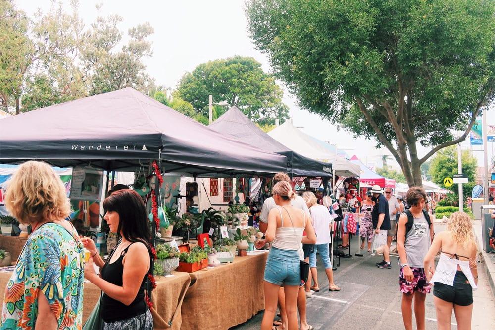 caloundra street fair stallholders
