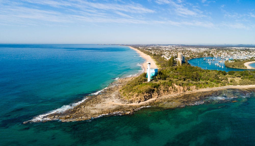 aerial view of point cartwright