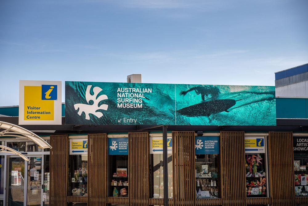 australian national surfing museum facade