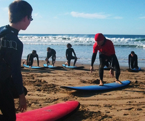 torquay surf academy at bells beach