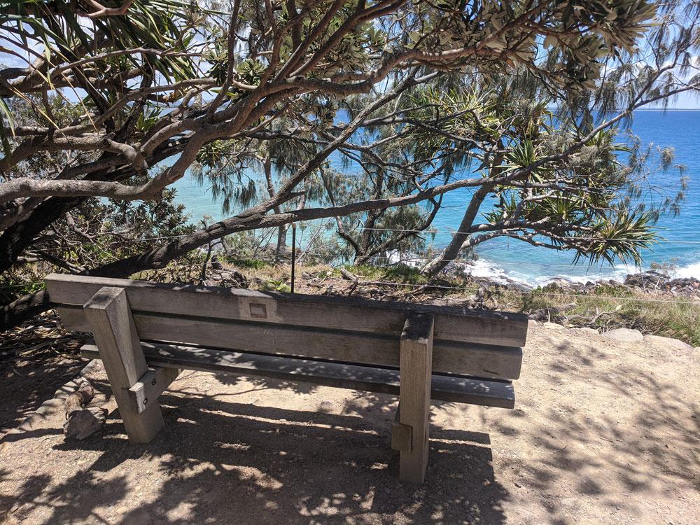 fairy pools bench