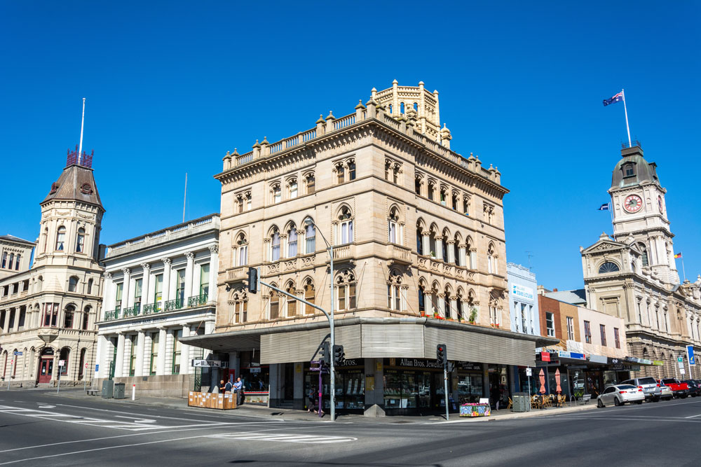 ballarat street corner