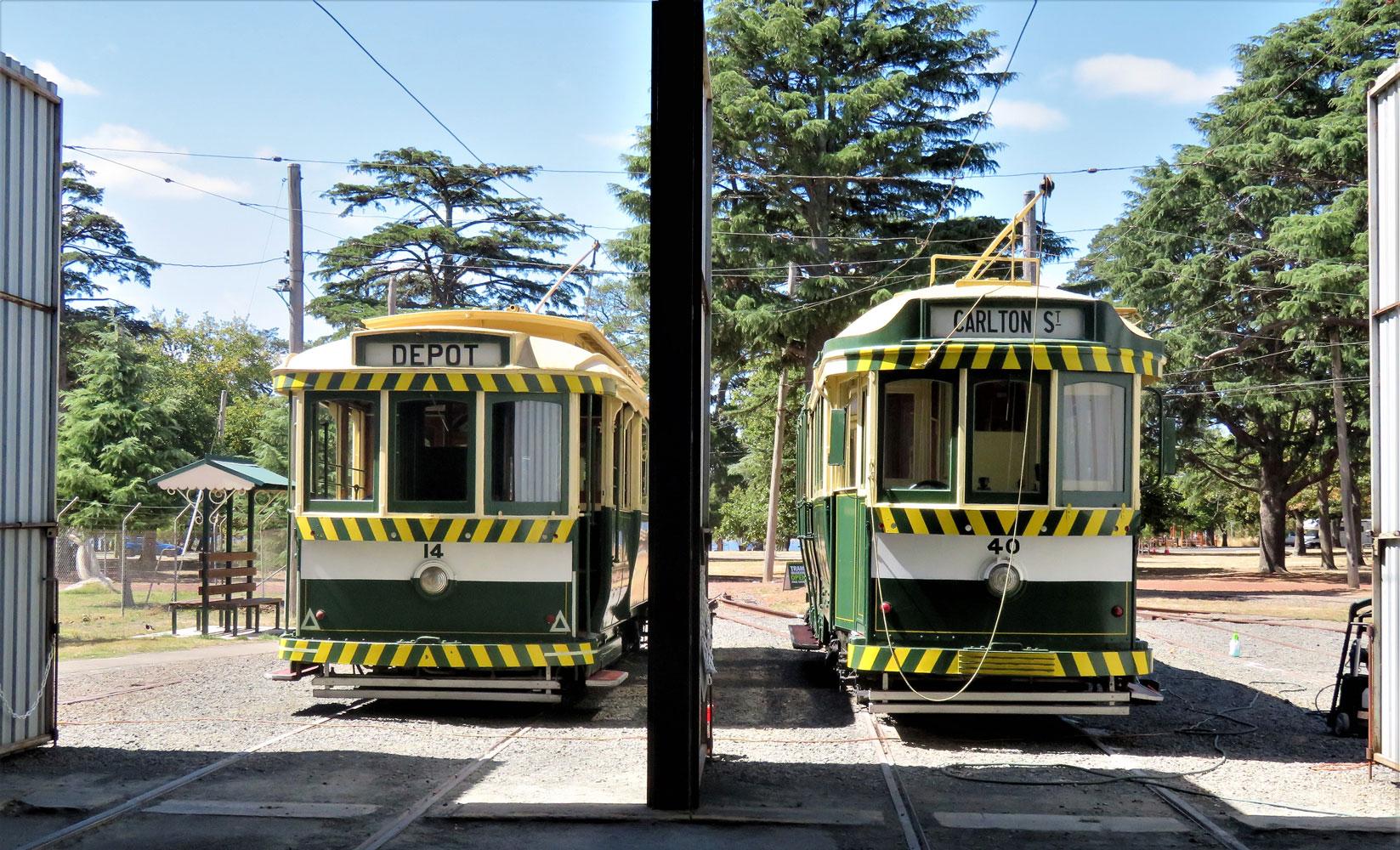 ballarat tramway museums trams