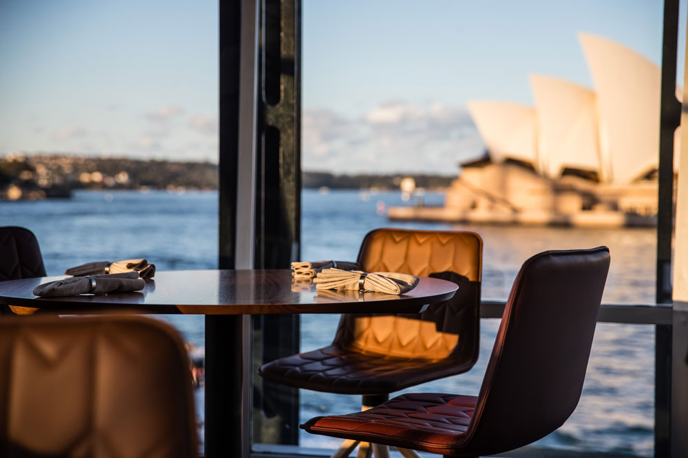 quay sydney restaurant view